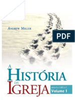 A história da Igreja vol. 1 - Andrew Miller