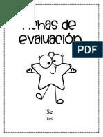 FICHAS DE EVALUACION  SEMANA 16