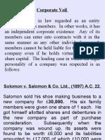 1 Corporate Veil