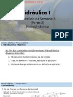 HIDRA I - SEMANA III 2