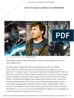 Harvey Smith y el diseño de juegos repletos de posibilidades