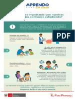 Infografía_Por qué es importante que nuestros hijos e hijas continuen estudiando