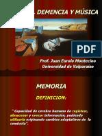MUSICA, MEMORIA Y DEMENCIA