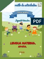 1o 2T Lengua Materna. Español  Alumno CUADERNILLO MD