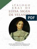 Luisa Sigea de Velasco - Catálogo de sus obras