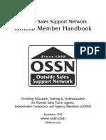 Travel Agent - Outside Sales Support Netqork - Official Member Handbook