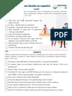 shopping-at-a-store-Spanish-pdf-worksheet-comprando-en-una-tienda-en-español