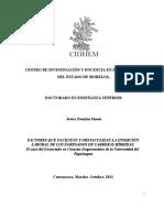 INSERCION LABORAL EGRESADOS CARRERAS HÍBRIDAS