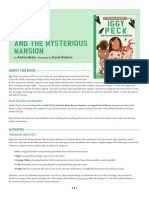 Iggy Peck and the Mysterious Mansion Teaching Guide