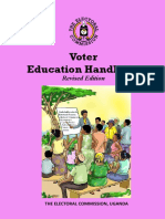 Uganda Voter Education Handbook 2020