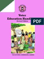 Uganda Voter Education Handbook 2020