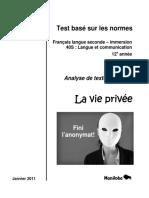 Analyse de textes d'élèves محاولات تلمذية في الكتابة