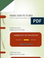 MERCADO FUTURO  aula 1