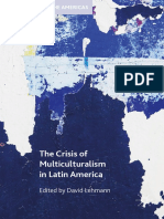 The Crisis of Multiculturalism in LatinAmerica LECHMANN