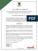 Decreto cuarentena