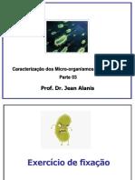 Caracterização dos Micro organismos03-1