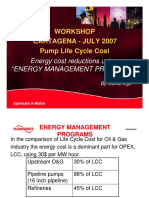 Pump Life Cycle Cost 8 energy cost reduction