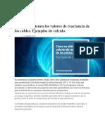 CÁLCULO DE LAS REACTANCIAS EN CABLES -PRYSMIAN.docx