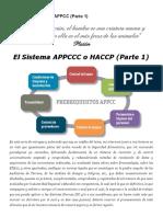 El Sistema HACCP 1ra. Parte