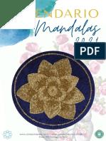 CALENDARIO DE MANDALAS 2021  Santandreu
