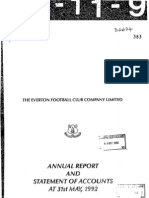 EFC 1991 1992 Accounts