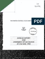 EFC 1992 1993 Accounts