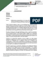 OFICIO CIRCULAR N 009 2020 EF 50.03