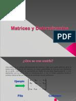 Algebra lineal-matrices y determinantes