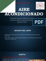 Aire acondicionado ESTADO DEL ARTE