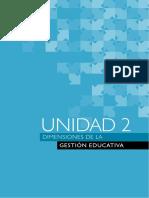 DIMENSIONES DE LA GESTION EDUCATIVA