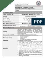 Evaluation Project Announcement for MEC 224 MECHANICAL DESIGN_a11879ffa56d3e07645cc9e5ca28a3cf