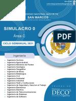 SIMULACRO 0 - AREA C