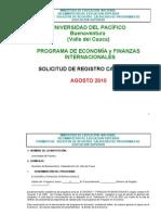 Documento Maestro ECON y FIN INTERNACIONALES