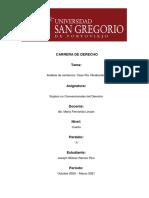 Analisis de sentencia Río Vilcabamba