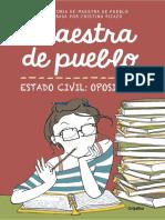 Maestra de pueblo Estado civil opositora