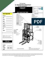 JAPL-F-HE-013 Forklift Check