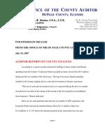 FY 07 Press Release 2nd Quarter on letterhead