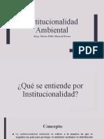Clase 2 - Intitucionalidad Ambiental (1)