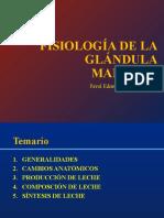 FISIOLOGÍA DE LA GLÁNDULA MAMARIA