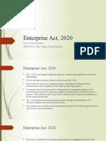 Industrial Enterprise Act, 2020