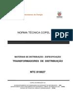 NTC 810027_201410_transformador DIST