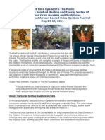 Spiritual Healing Energy Vortex Sacred Sculpture Gardens
