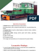 Deisel Locomotive haulage