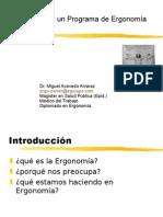 Programa Ergonomia