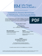 Commercial Finance Roundtable