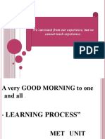 3. Learning process faculty guidedl