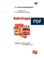 Report - Supply Chain Management SCM - National Foods - Ketchup