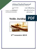 Veille Juridique 2eme Semestre 2019