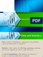 Introduction to Statistics JO