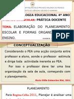 AULA Nº 2-ELABORAÇÃO DO PLANEJAMENTO ESCOLAR - Cópia